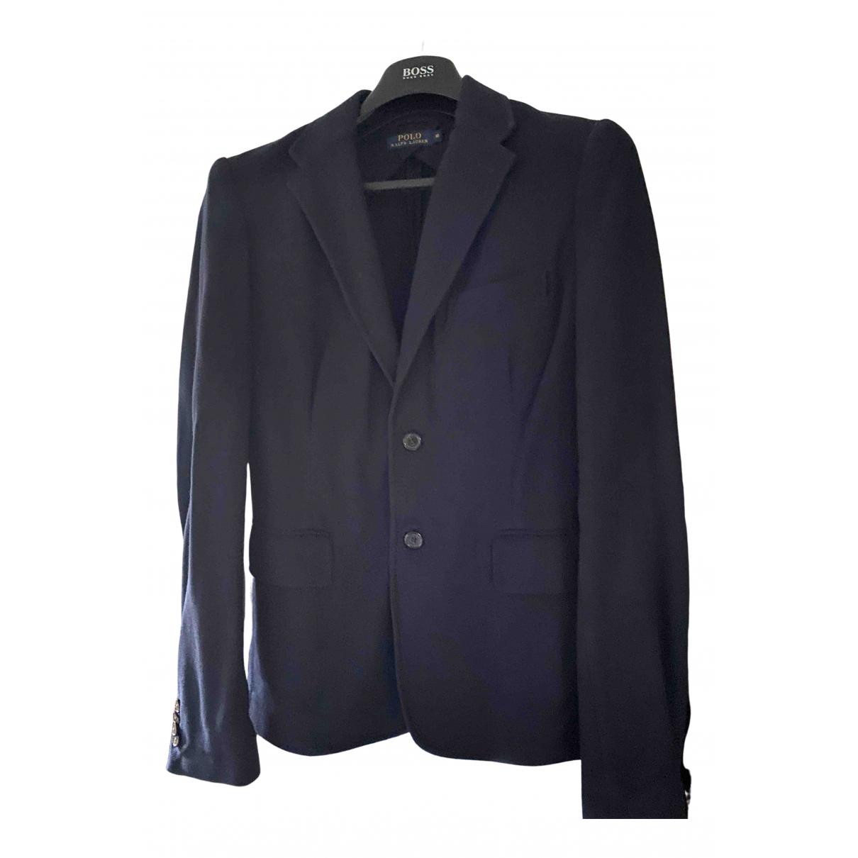 Polo Ralph Lauren - Veste   pour femme en coton - marine
