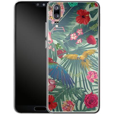 Huawei P20 Silikon Handyhuelle - Tropic Fun von Mark Ashkenazi
