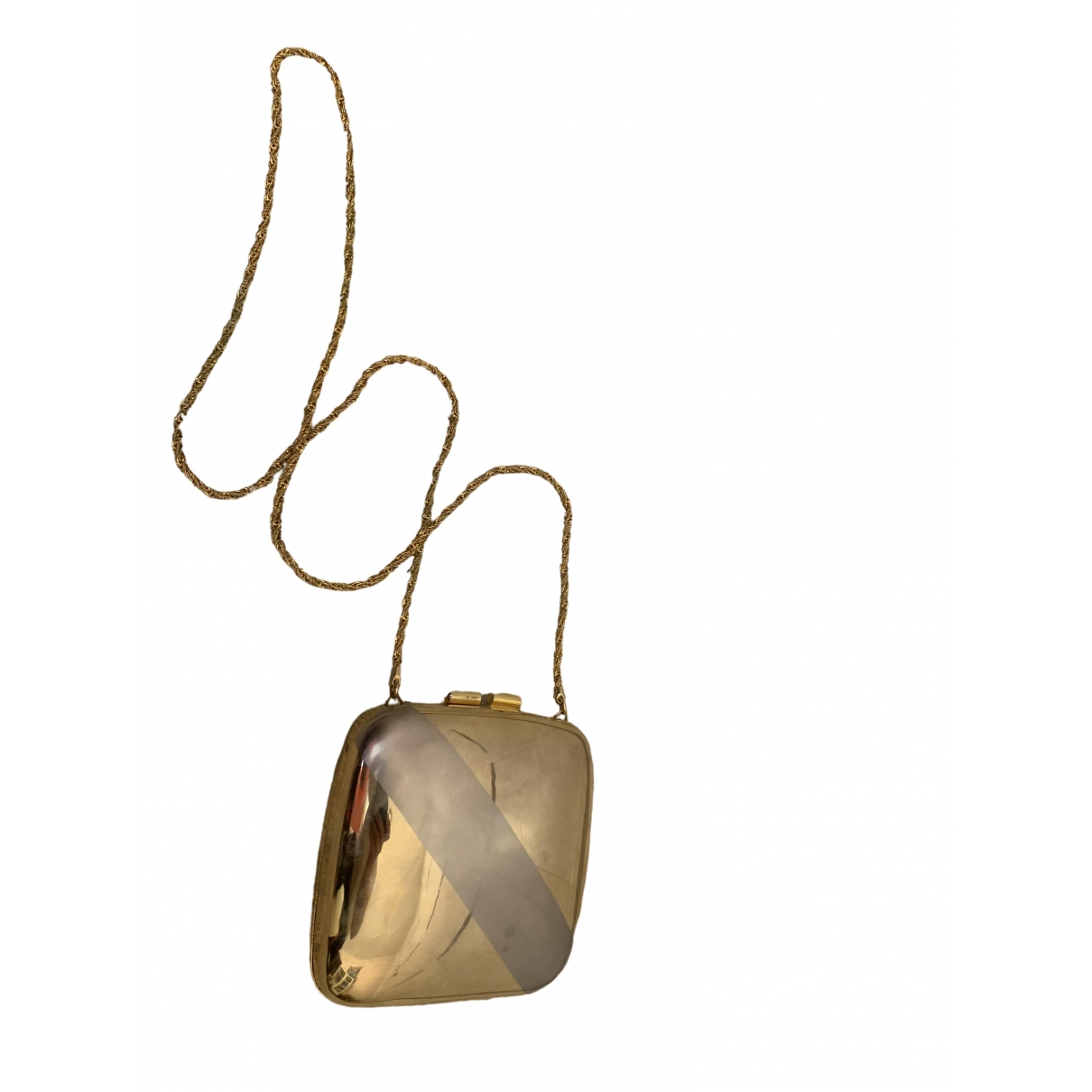 Etienne Aigner \N Clutch in  Gold Metall