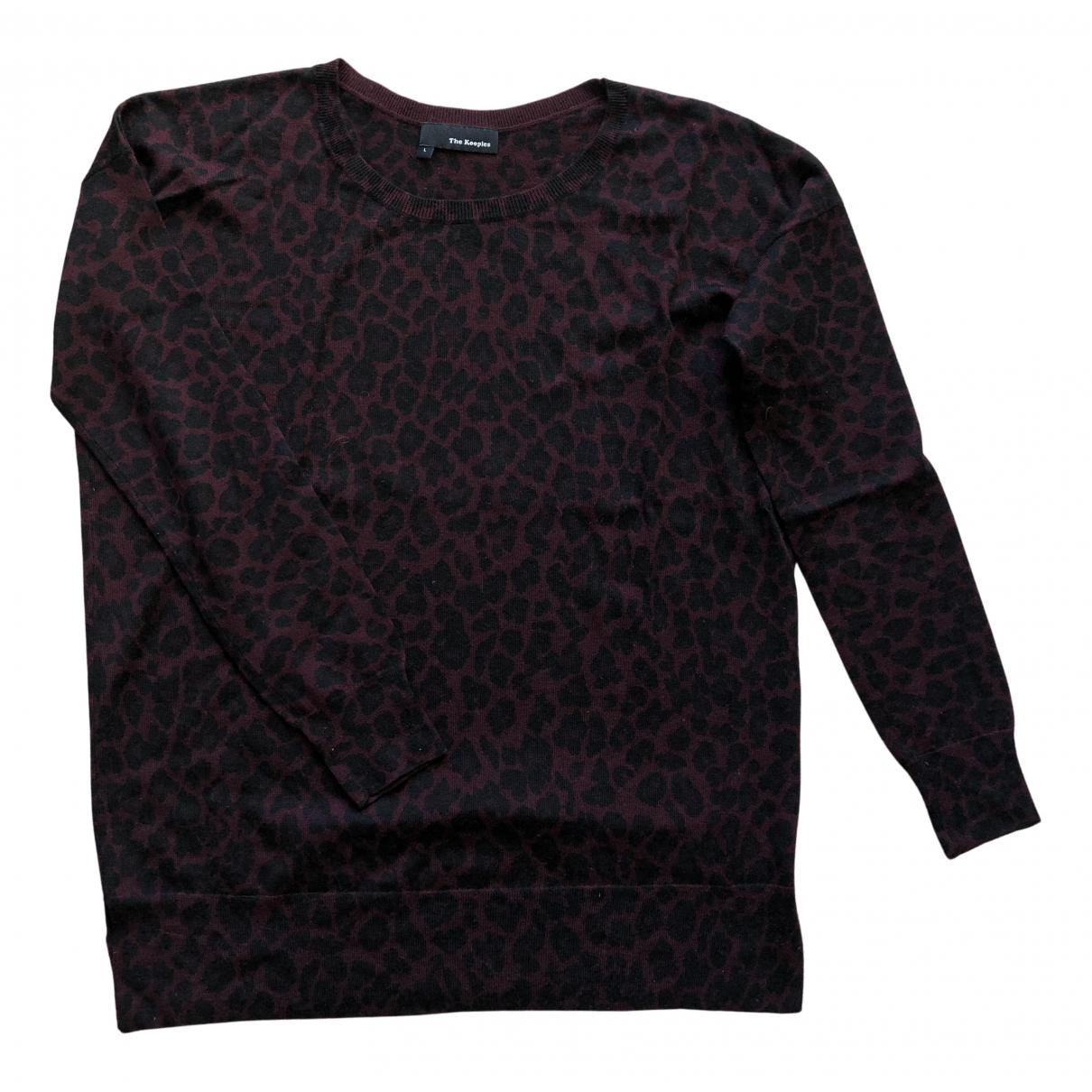 The Kooples N Burgundy Wool Knitwear for Women L International