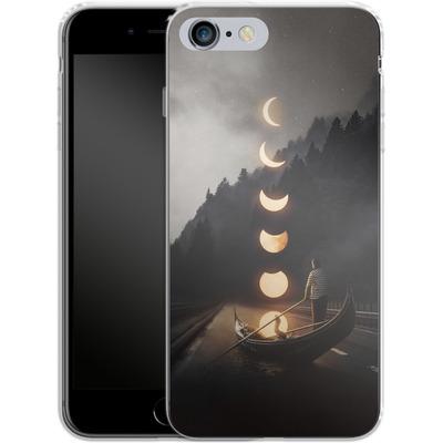 Apple iPhone 6s Plus Silikon Handyhuelle - Moon Ride von Enkel Dika