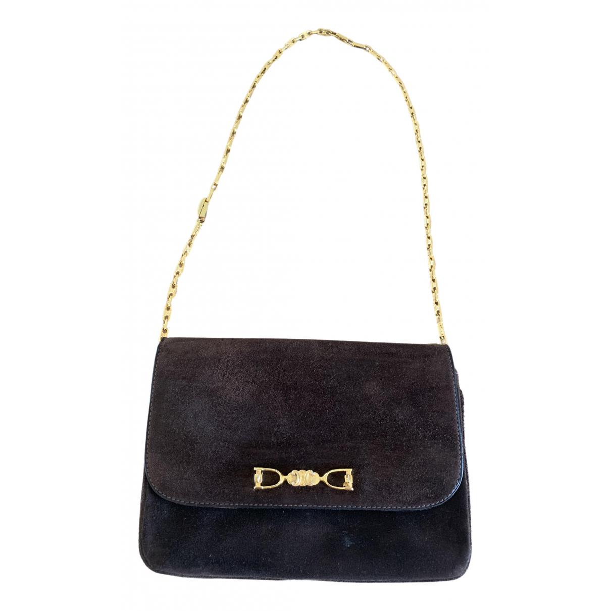 Celine \N Brown Suede handbag for Women \N