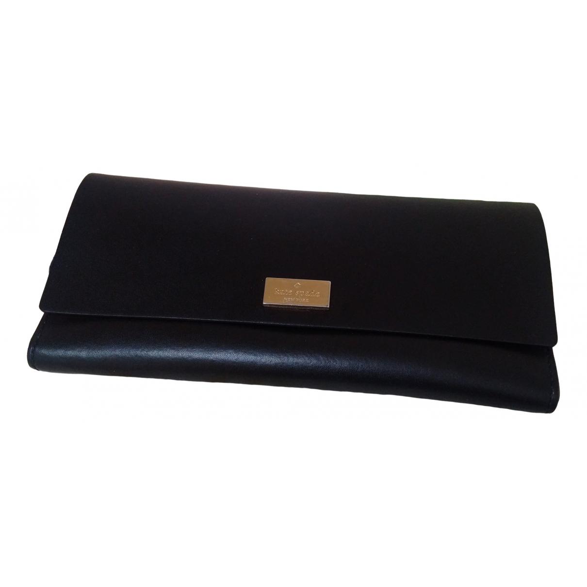 Kate Spade \N Black Leather wallet for Women \N