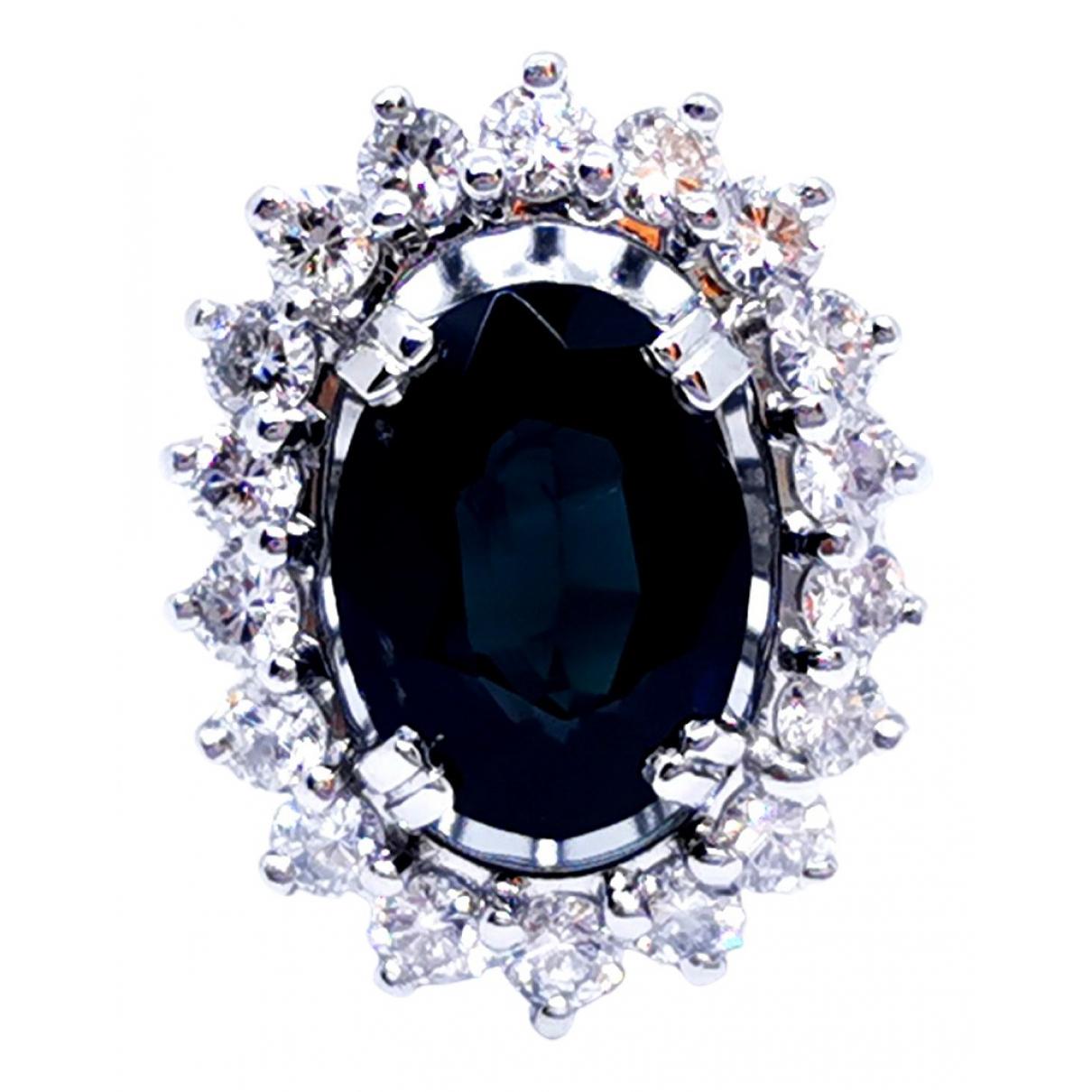Autre Marque \N Silver White gold ring for Women 49 EU