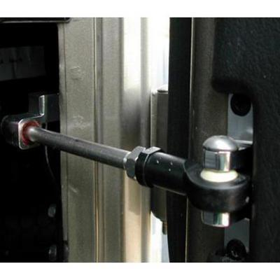 Armadillo Billet Mechanical Front Door Stop (Silver) - 44130-S