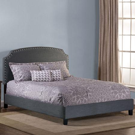 Lani Upholstered Full Bed Set, One Size , Gray