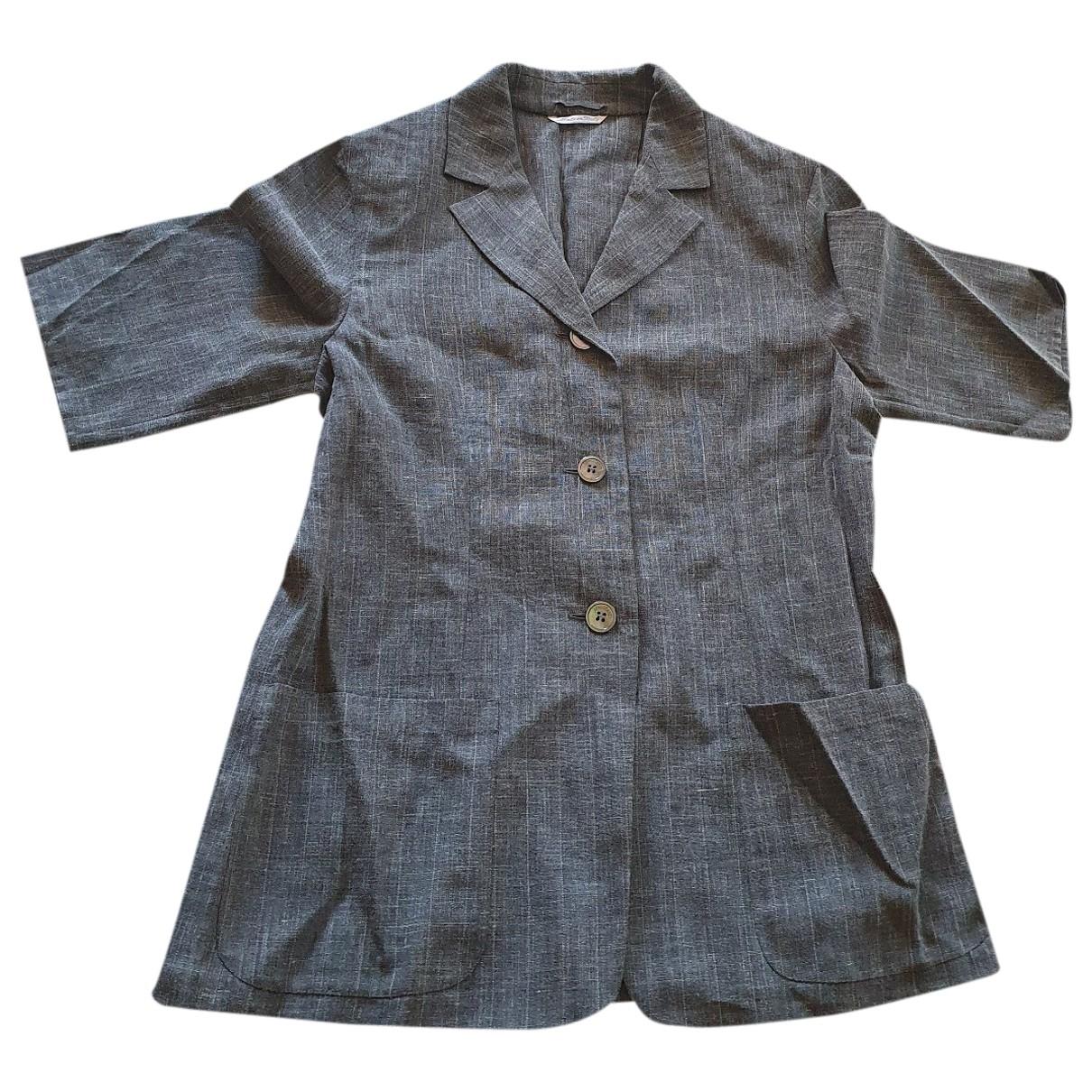 Max Mara \N Grey jacket for Women 44 IT
