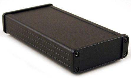 Hammond 1457, Black Aluminium Enclosure, 87 x 171.2 x 31.4mm