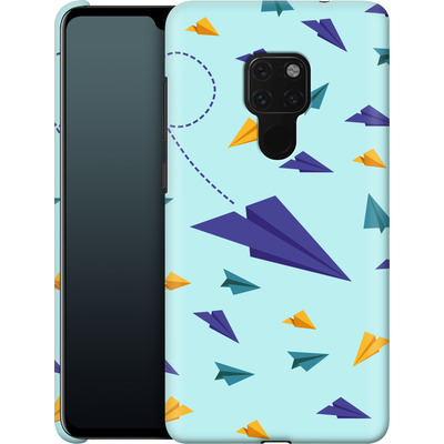 Huawei Mate 20 Smartphone Huelle - Paper Planes von caseable Designs