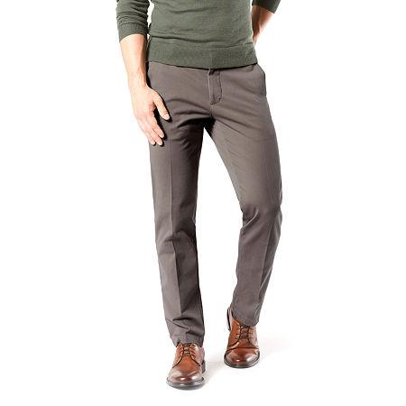 Dockers Men's Straight Fit Workday Khaki Smart 360 Flex Pants D2, 30 29, Gray