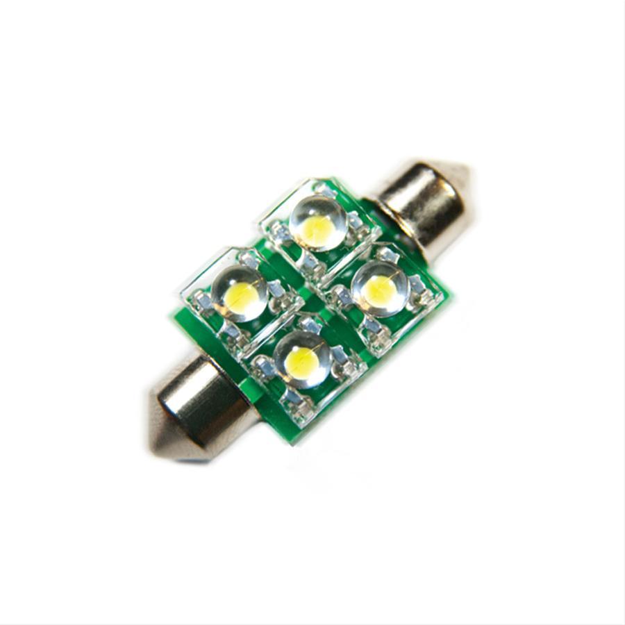 Oracle Lighting 5205-004 ORACLE 37MM 4 LED 3-Chip Festoon Bulbs (Pair) - Green