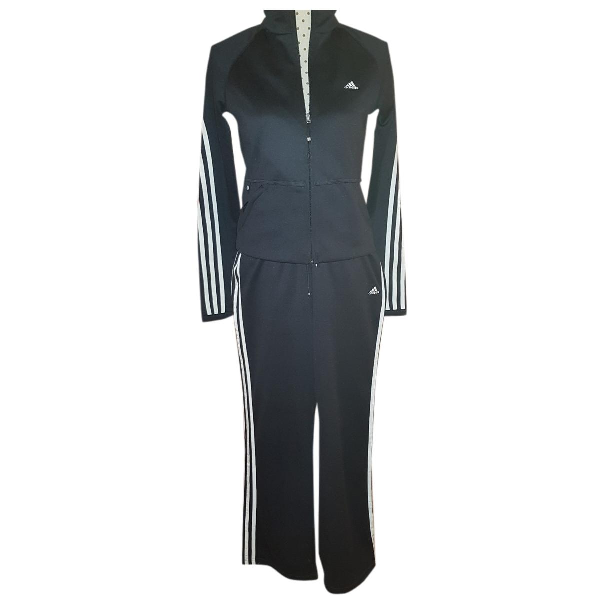 Adidas \N Kleid in  Schwarz Polyester