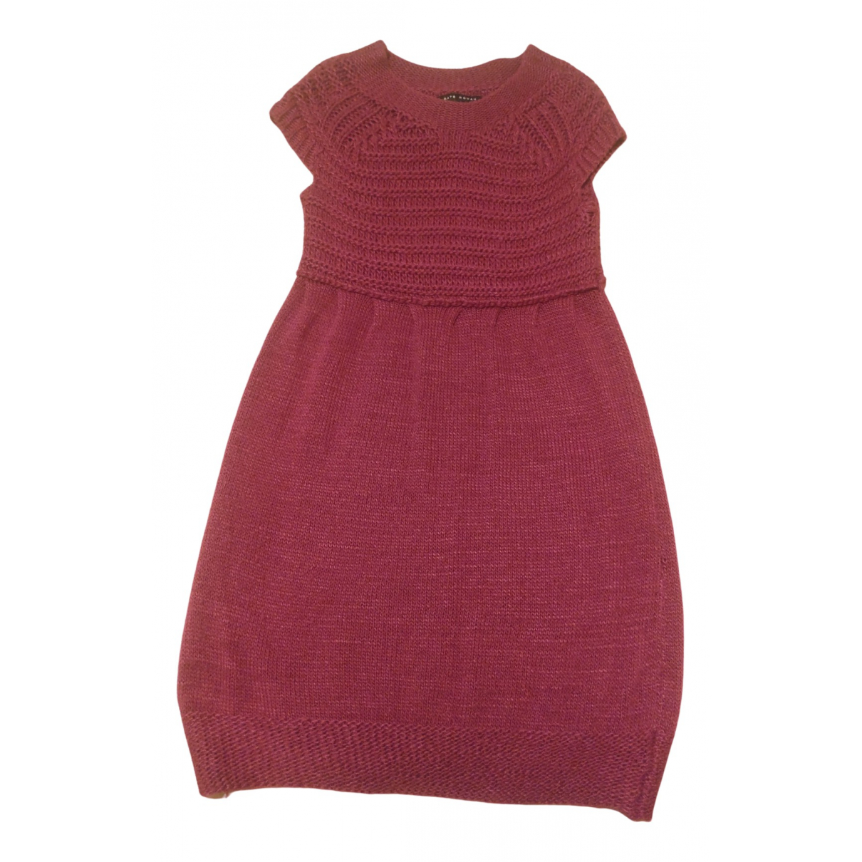Non Signe / Unsigned \N Kleid in  Lila Polyester