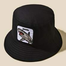 Shark Patched Bucket Hat