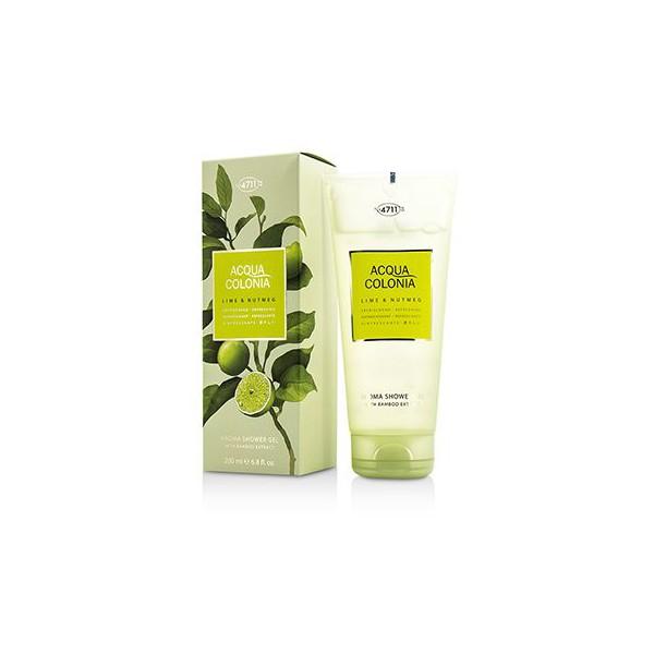 Acqua Colonia Citron vert & Noix de Muscade - 4711 Gel de ducha 200 ml