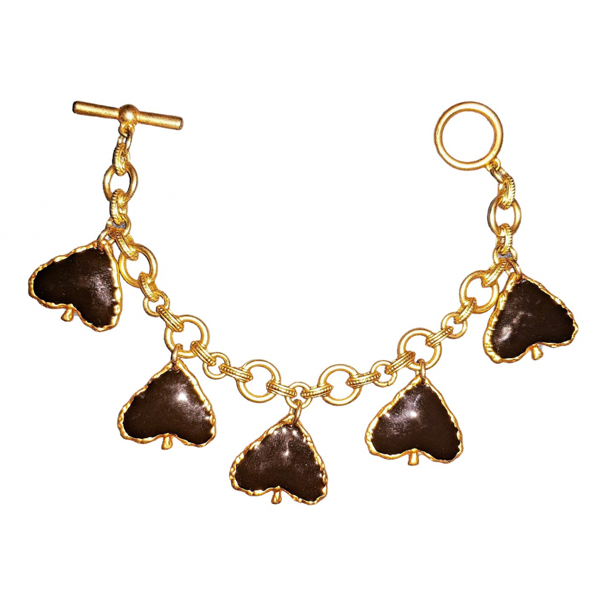 Zara - Bracelet   pour femme en metal - multicolore