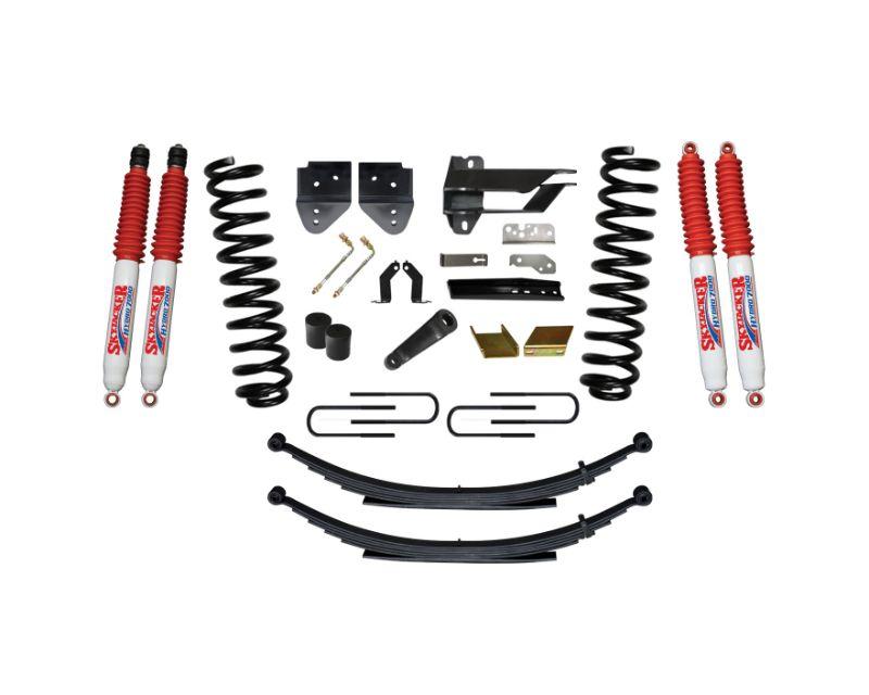 Skyjacker F17651KS-H Suspension Lift Kit w/Shock 6 Inch Lift w/Front Coil Springs Rear Leaf Springs Hydro 7000 Shocks 17-19 Ford F-250/ F-350 Super Du