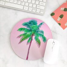Coconut Tree Round Mouse Pad