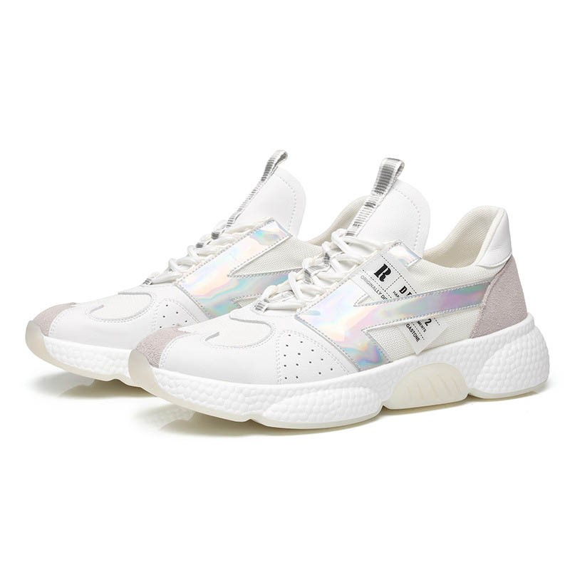 Ericdress Lace-Up Low-Cut Upper Microfiber Casual Sneakers