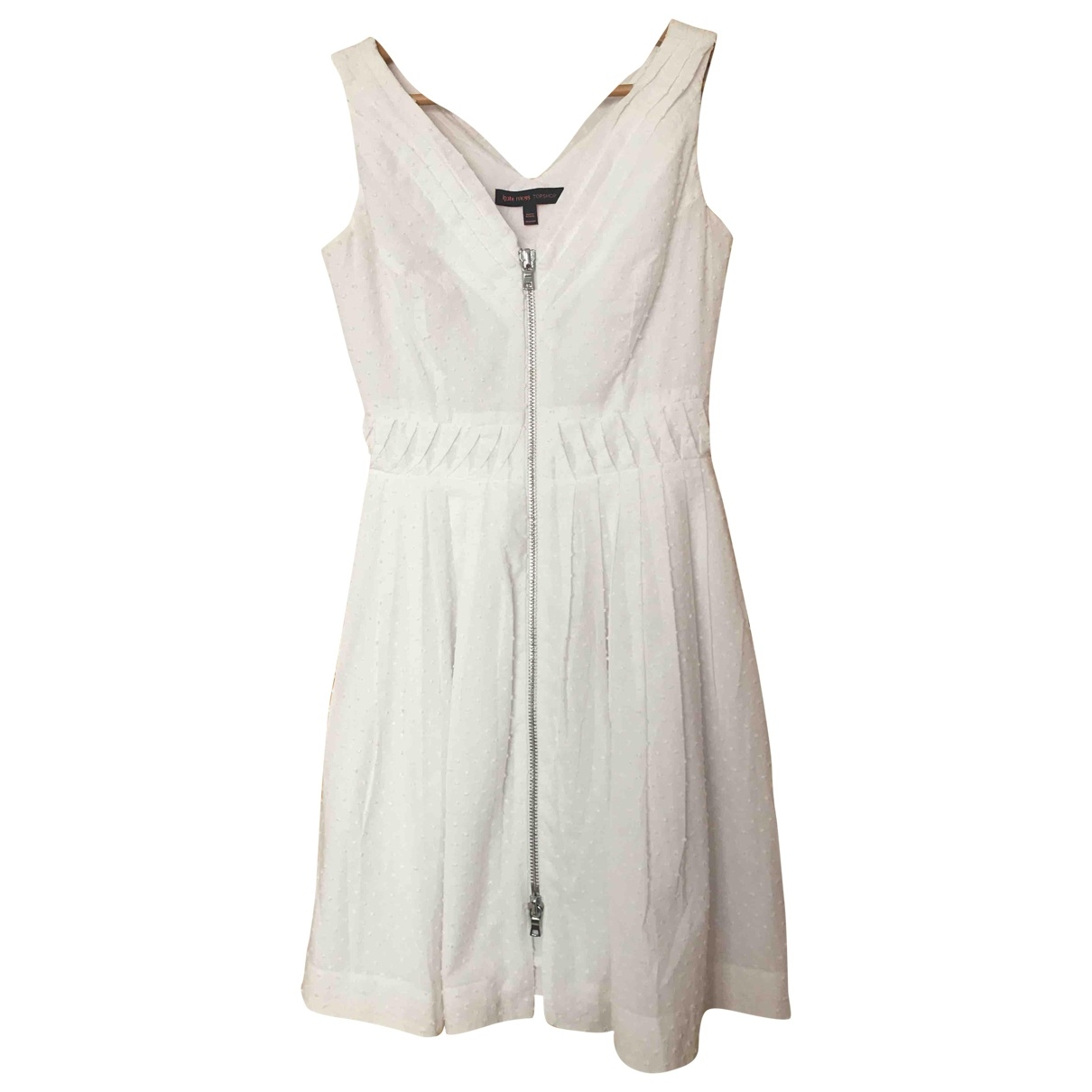 tophop \N White Cotton dress for Women 8 UK