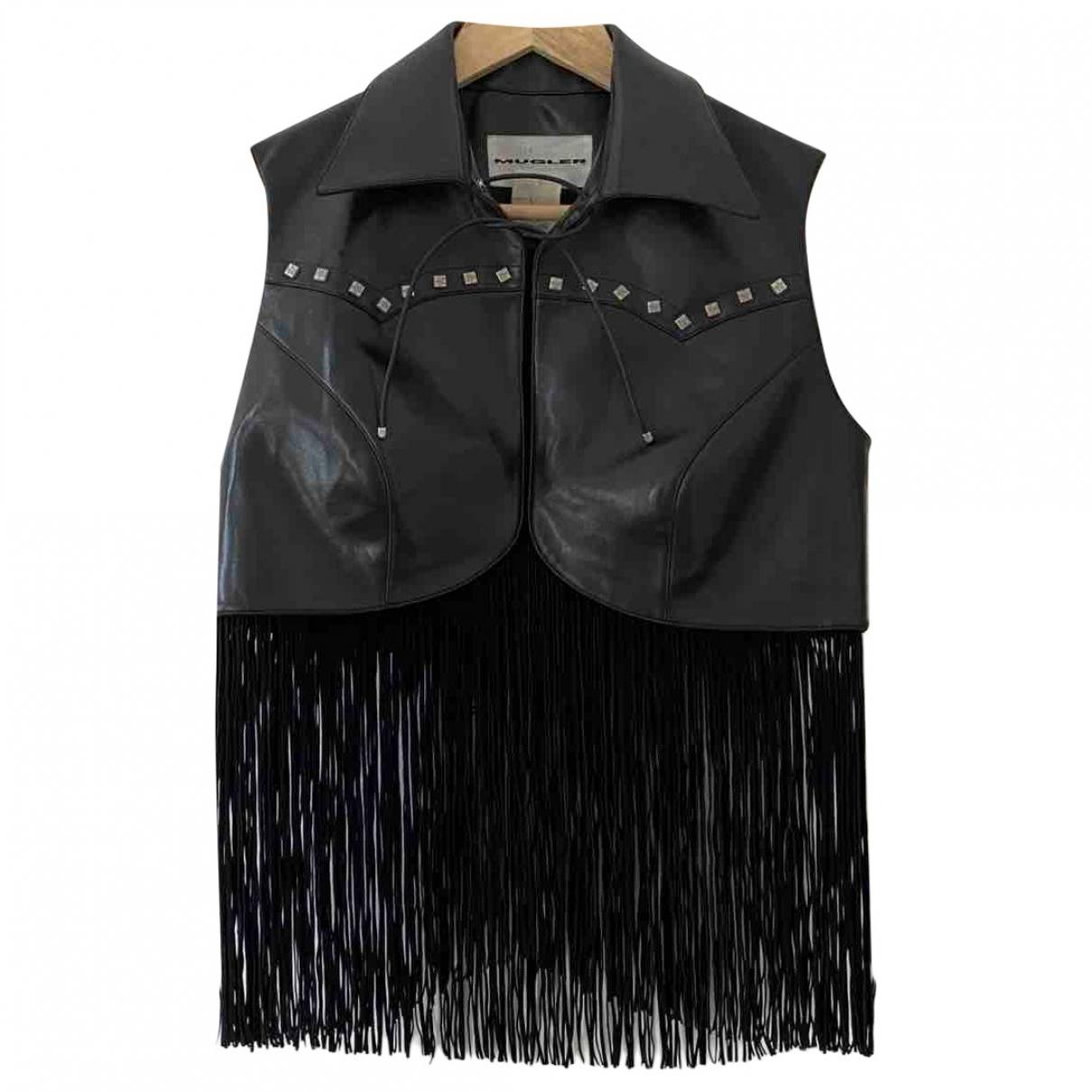 Mugler \N Black jacket for Women 40 FR