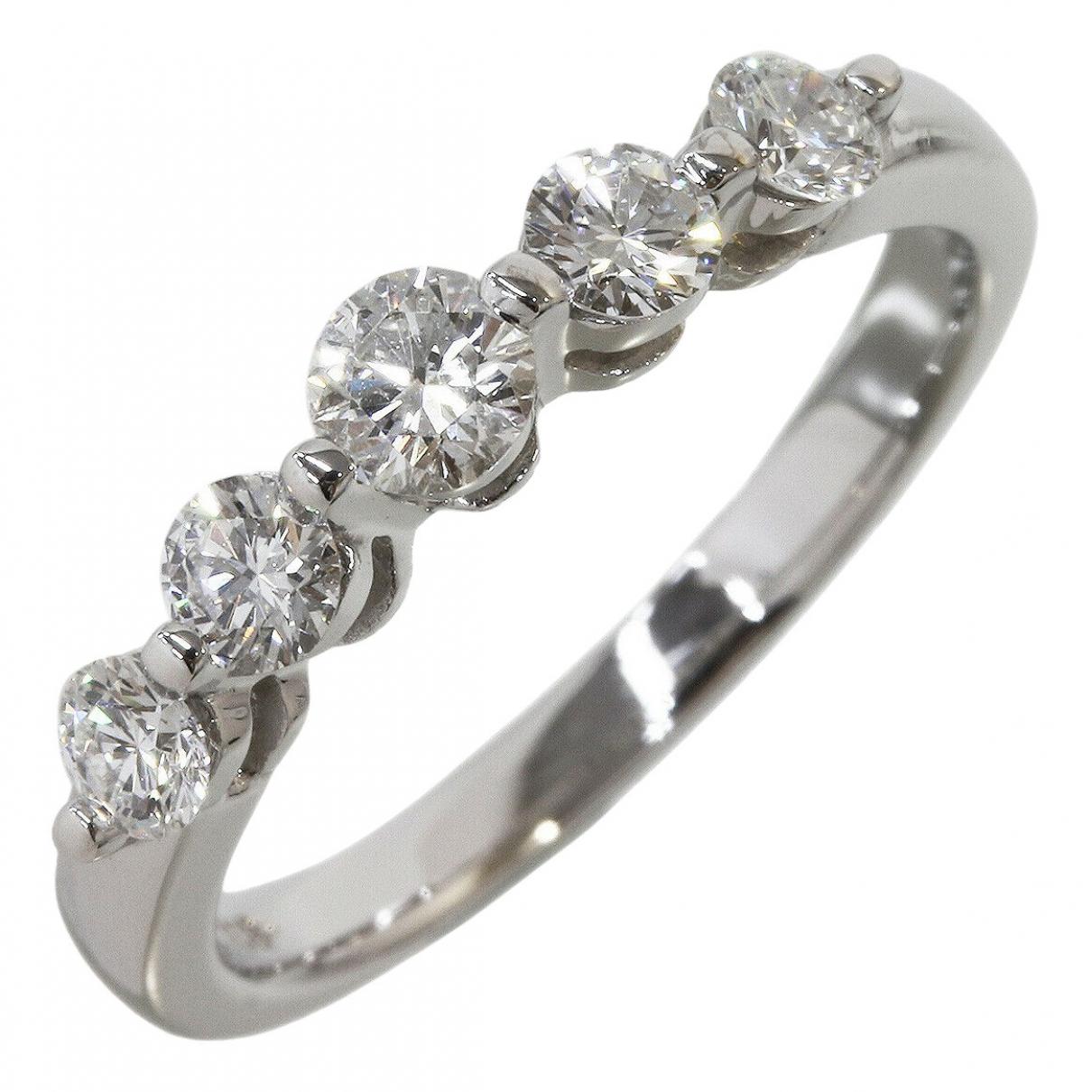 Mikimoto \N White gold ring for Women 49 EU