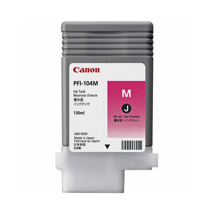 Canon PFI-104M 3631B001 Original Magenta Ink Cartridge