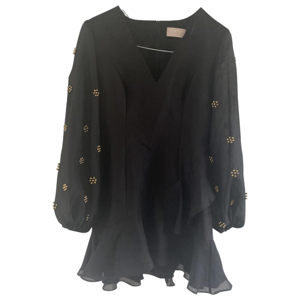 Keepsake The Label \N Kleid in  Schwarz Baumwolle