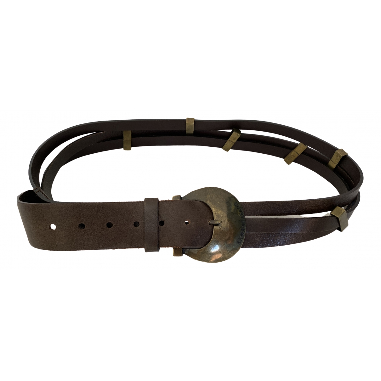 Cinturon de Cuero Armani Jeans