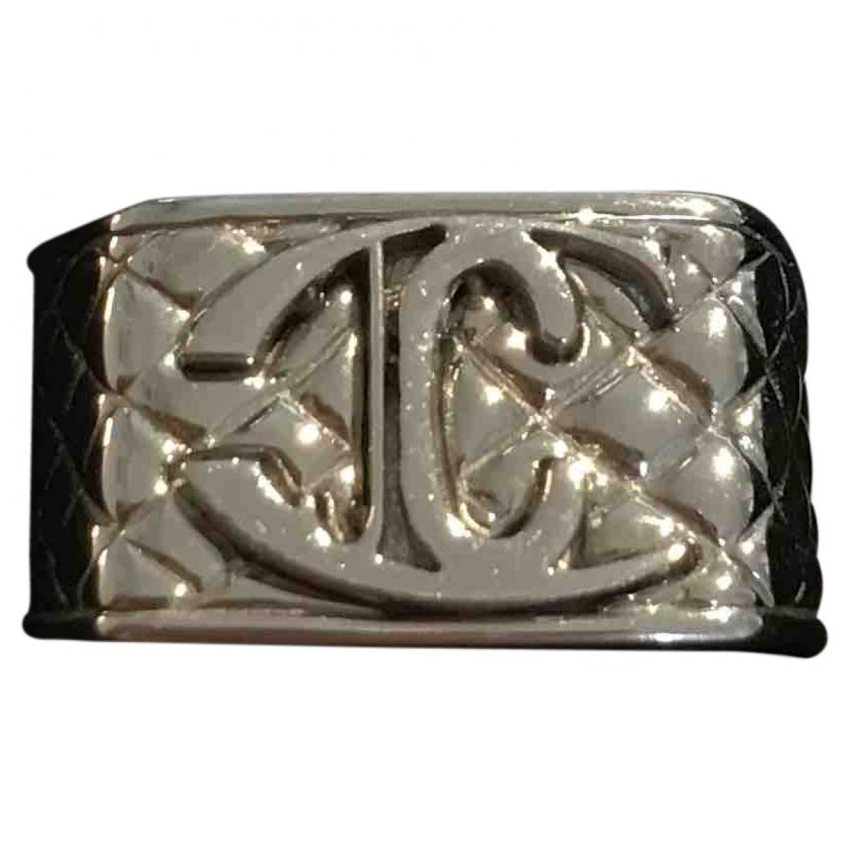 Just Cavalli \N Silver Steel ring for Women 52 EU
