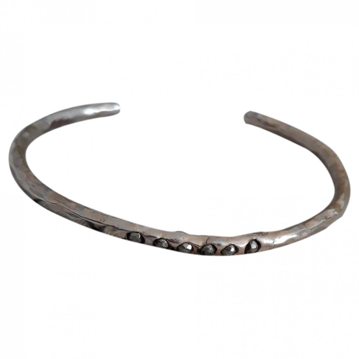 Pascale Monvoisin - Bracelet   pour femme en metal - argente