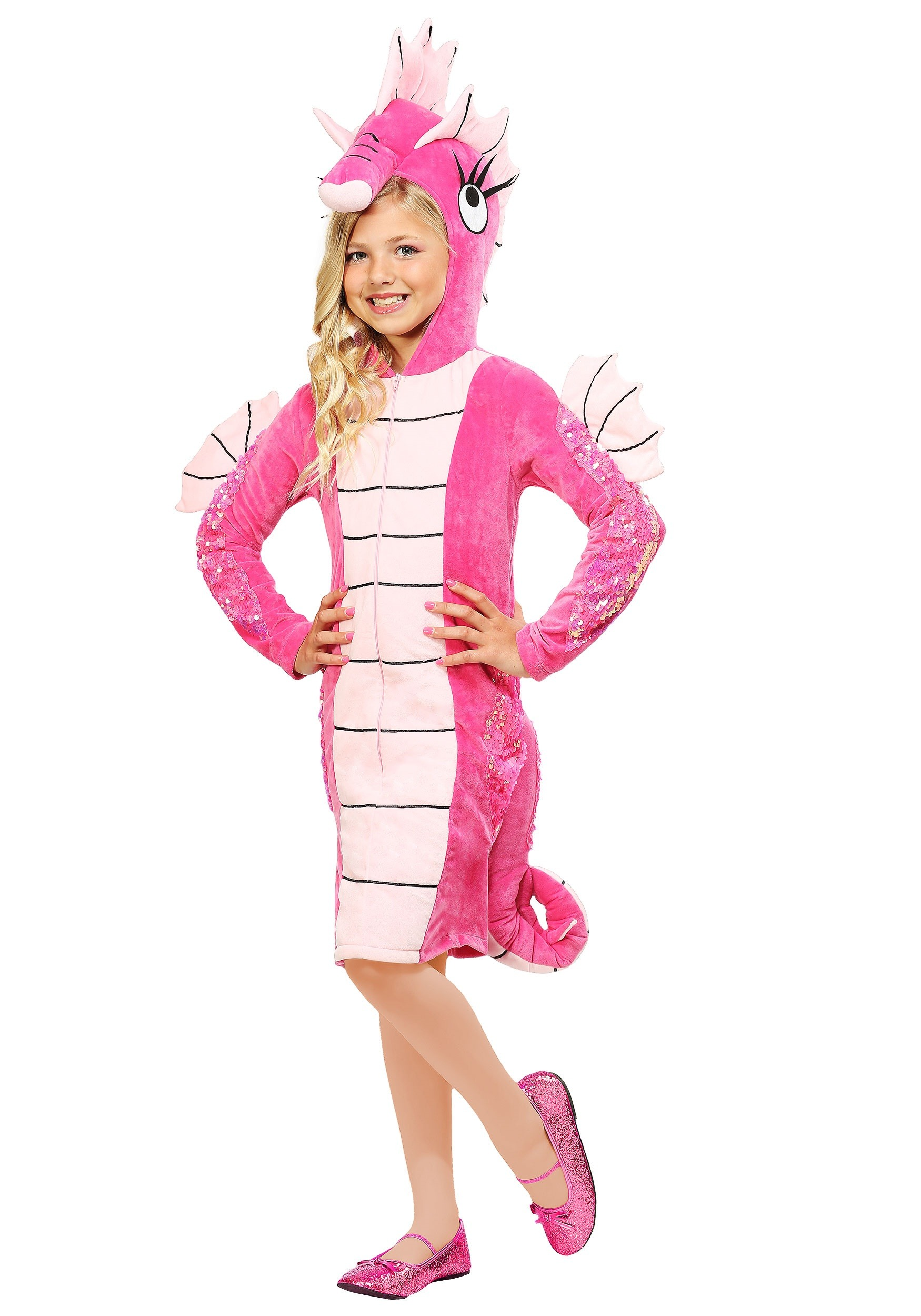 Seahorse Costume for Girls