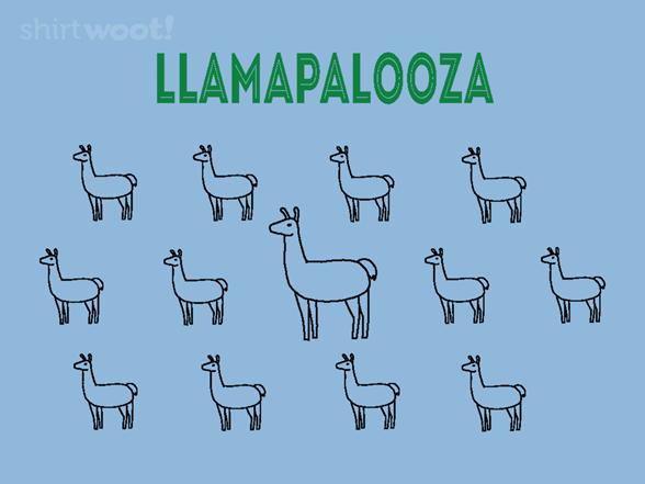 Llamapalooza! T Shirt