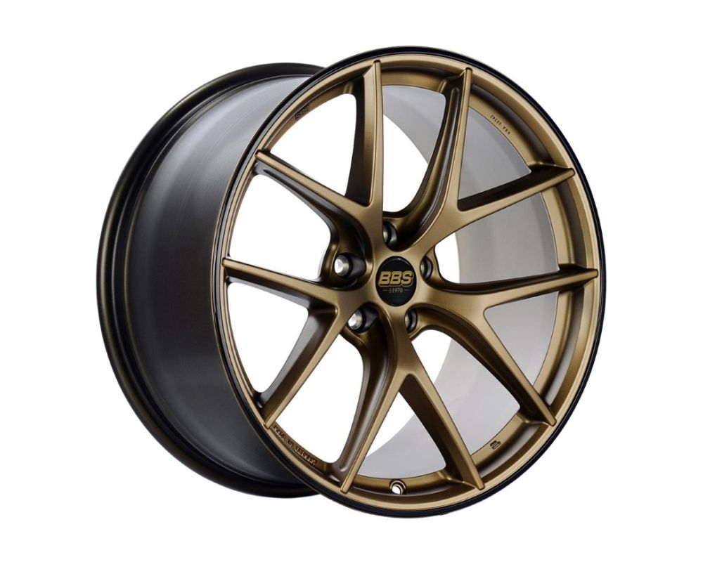 BBS CI-R Wheel 20x9 5x112 38mm Satin Bronze | Black Rim
