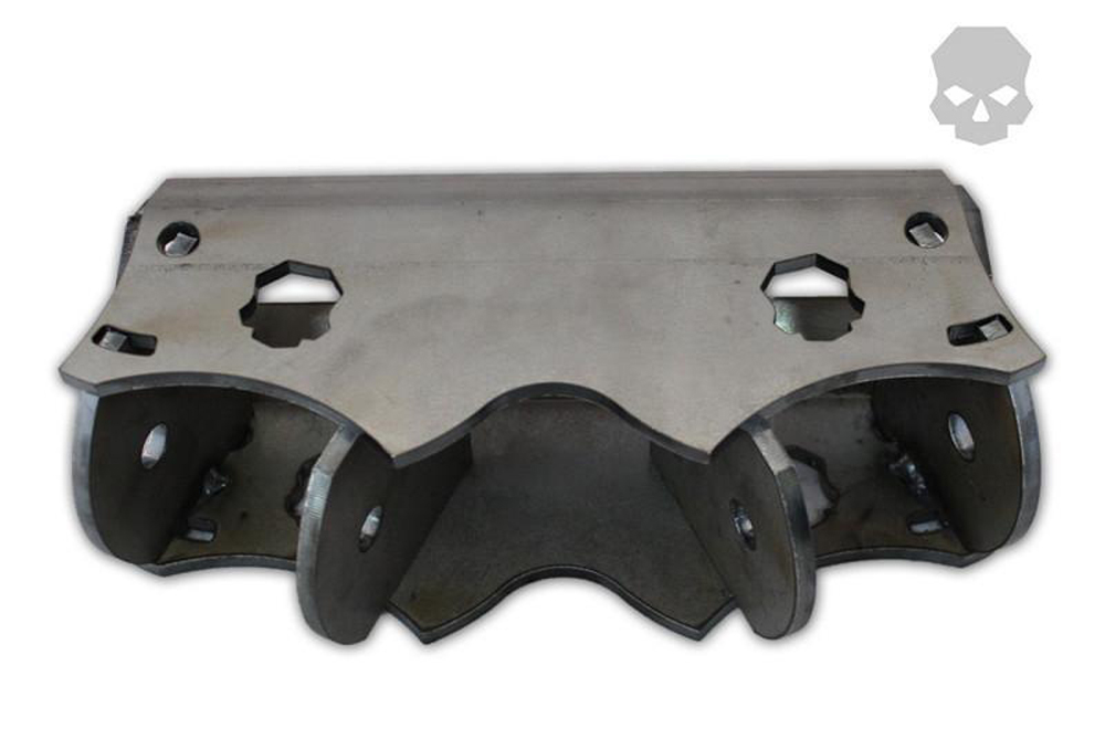 4-Link Adjustable Joint Mounting System 2.63 Inches W 9/16 Inch Holes 2 Inch Round Ballistic Fabrication BRK-1031-2
