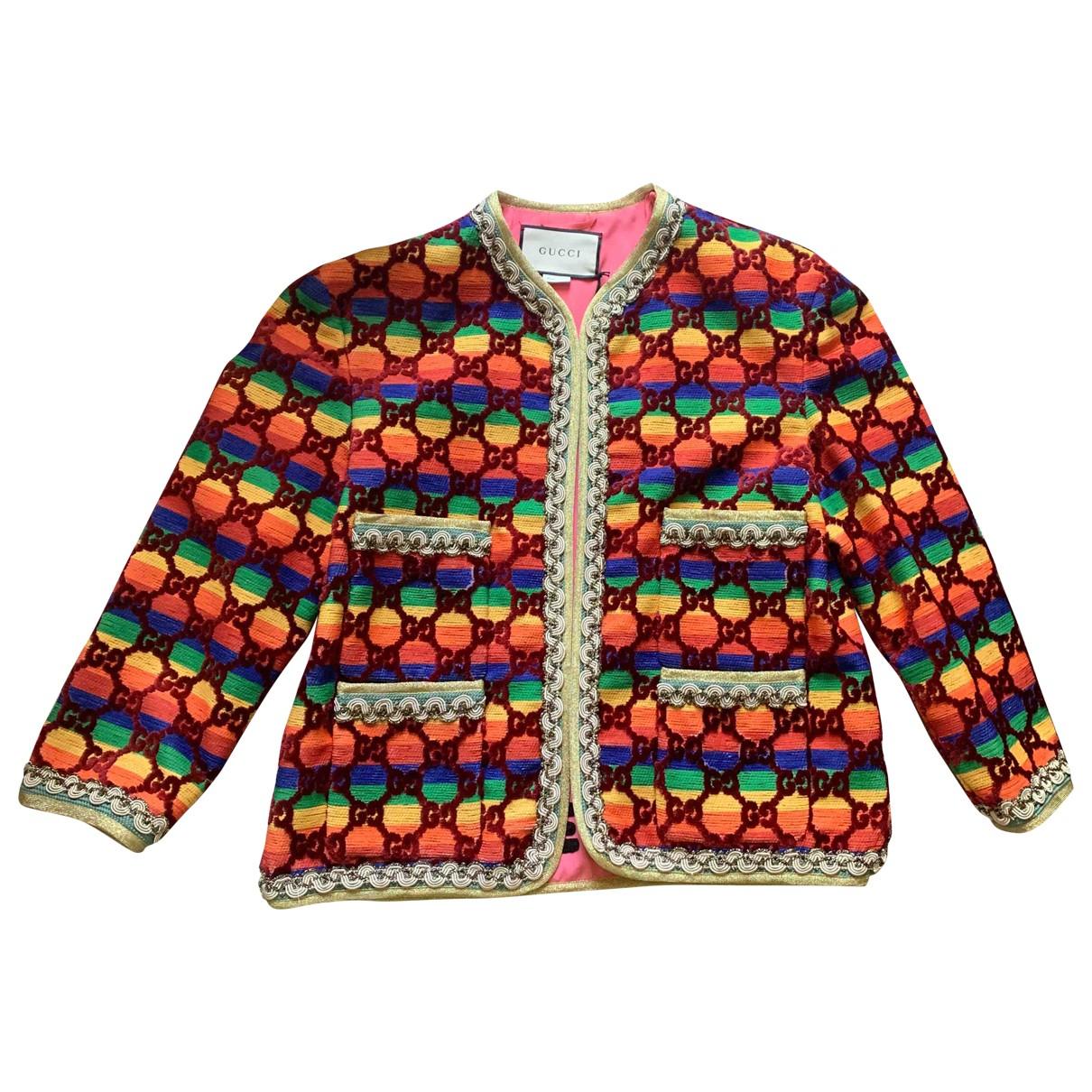 Gucci - Veste   pour femme - multicolore