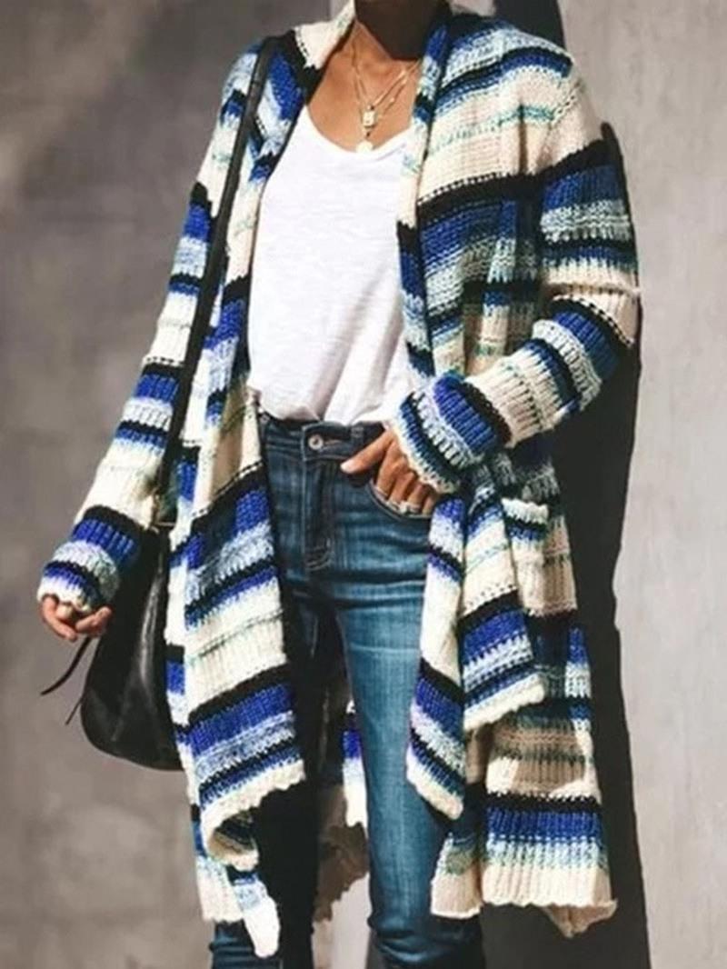 Ericdress Thin Regular Loose Long Sweater