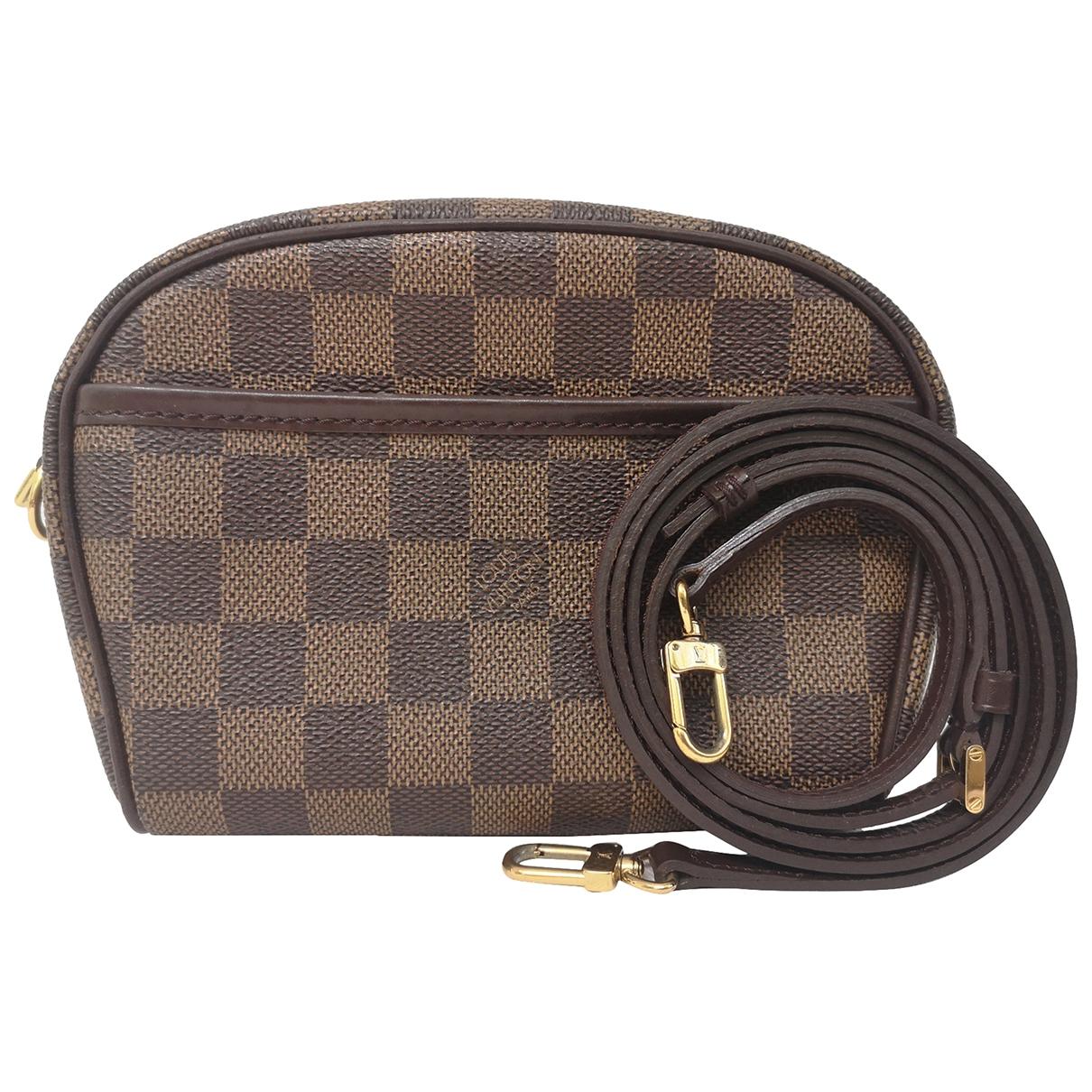 Louis Vuitton Ipanema Brown Cloth handbag for Women \N