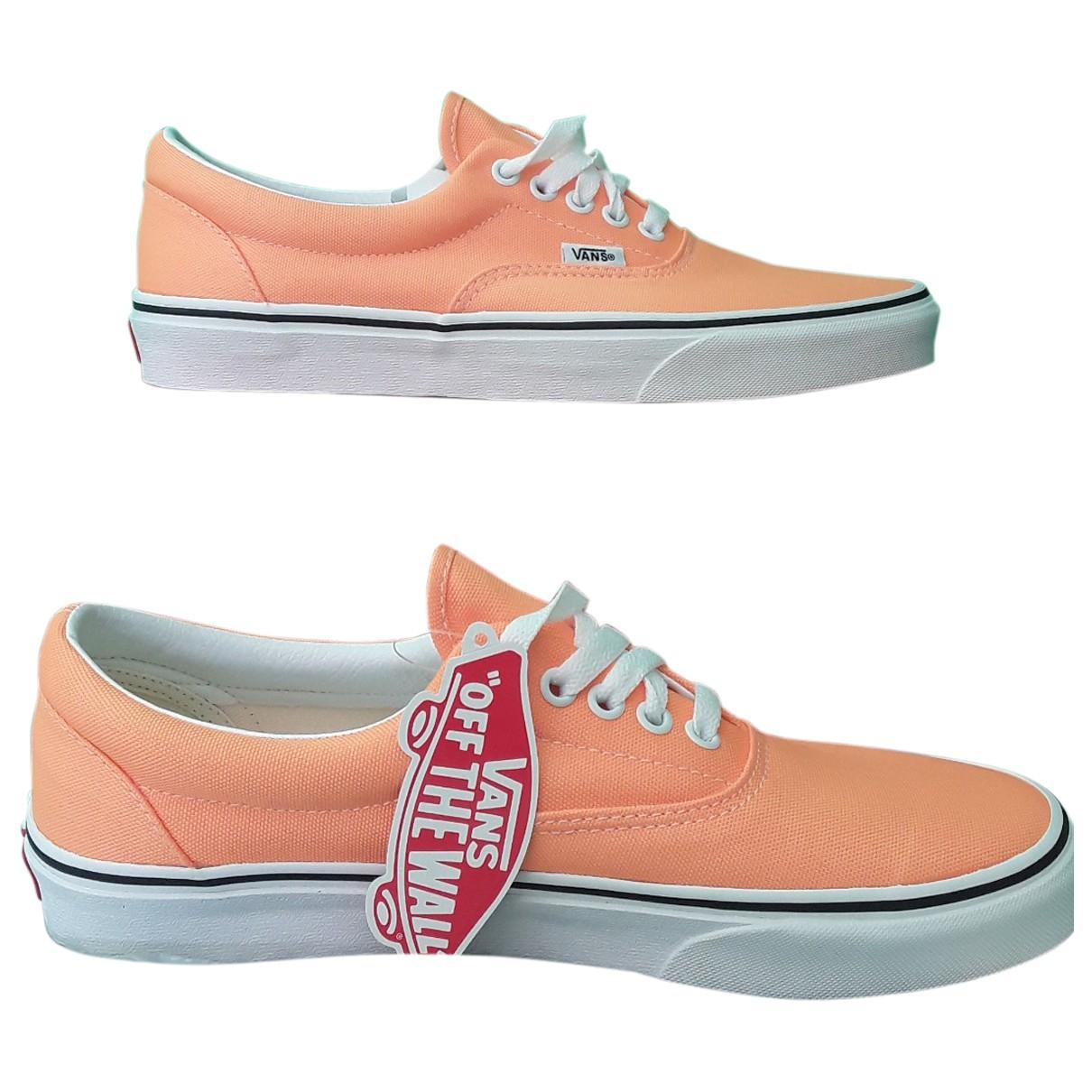 Vans N Orange Cloth Trainers for Men 41 EU