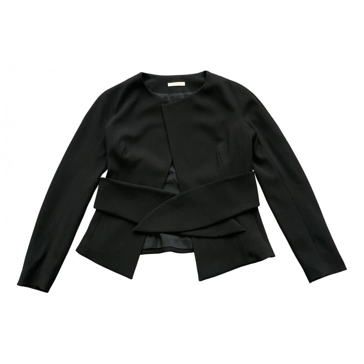 Paule Ka - Veste   pour femme en laine - noir