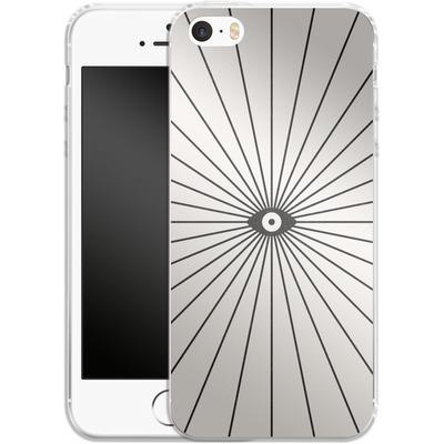 Apple iPhone 5s Silikon Handyhuelle - Big Brother von Florent Bodart