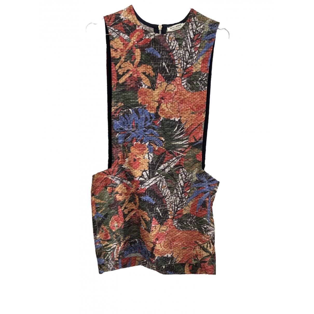 Roseanna - Robe   pour femme en coton - multicolore