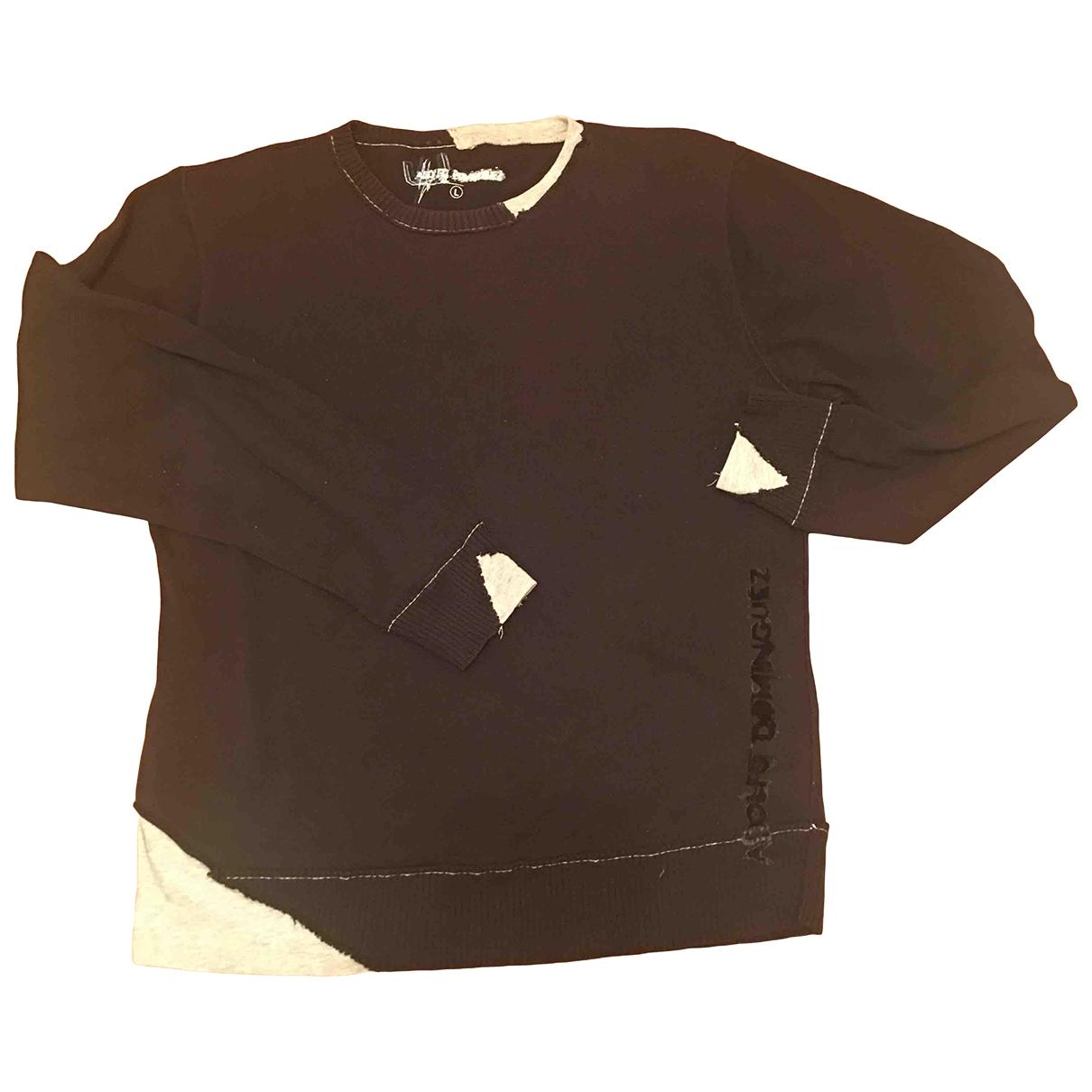 Adolfo Dominguez - Pulls.Gilets.Sweats   pour homme en coton - noir