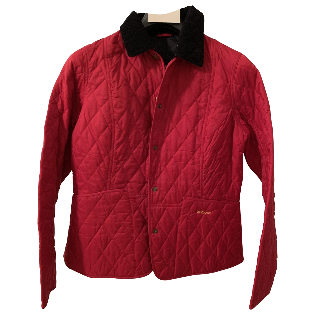 Barbour \N Jacke in  Rot Synthetik