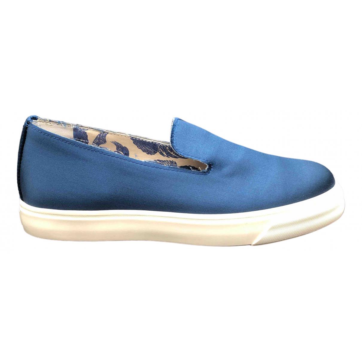 La Perla \N Blue Cloth Flats for Men 44 EU