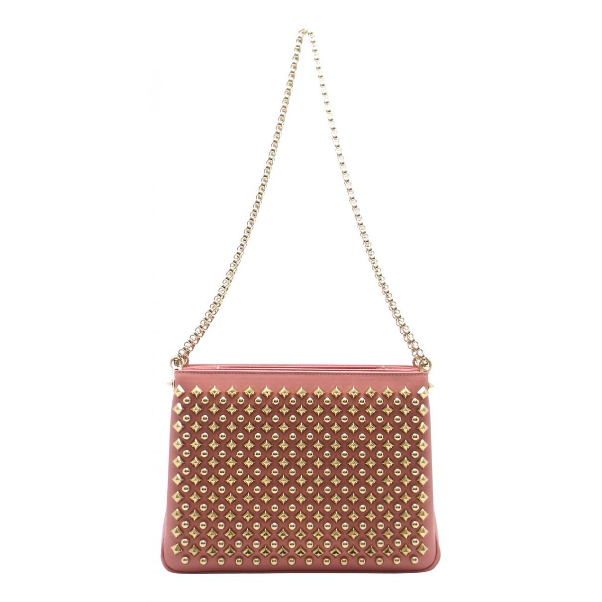 Christian Louboutin Triloubi Pink Leather handbag for Women N