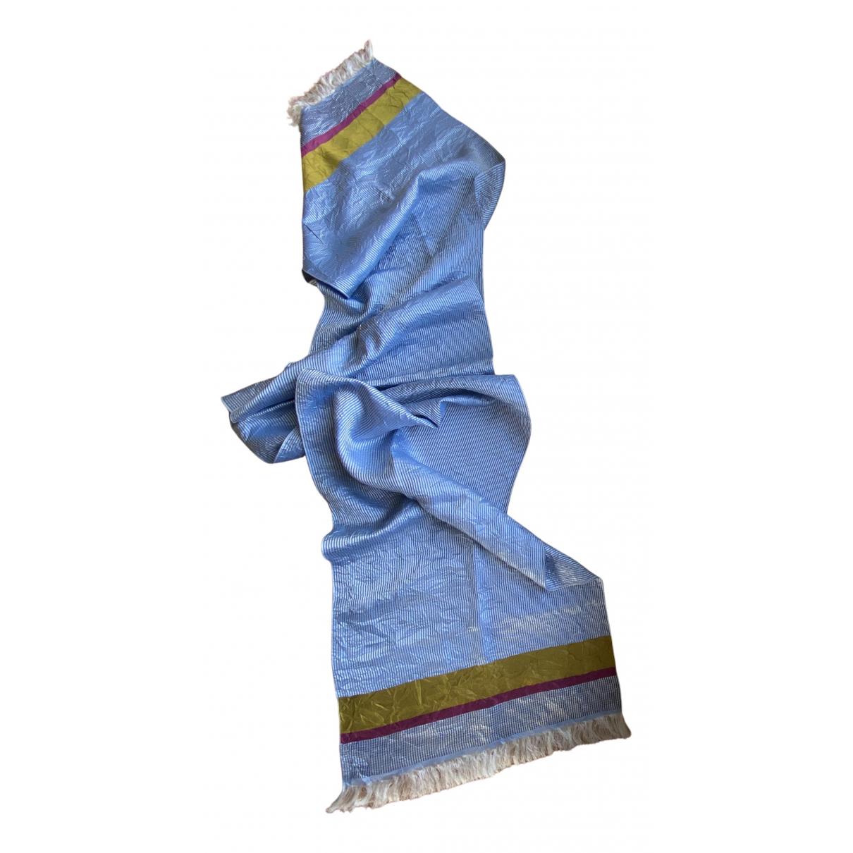 Kenzo N Blue Silk scarf & pocket squares for Men N