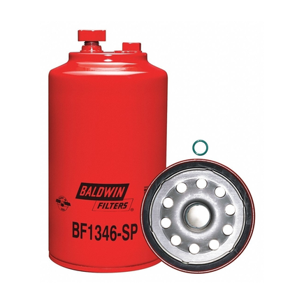 Baldwin BF1346-SP - Fuel/Water Separator Spin On With Drain And Sen...