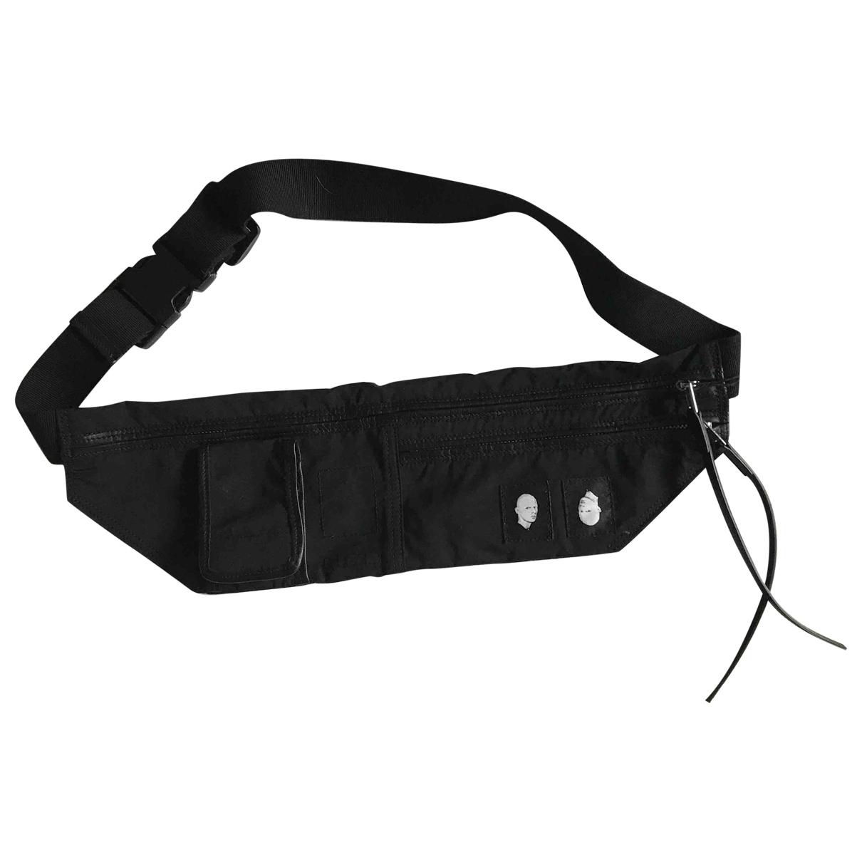Rick Owens Drkshdw \N Black Small bag, wallet & cases for Men \N