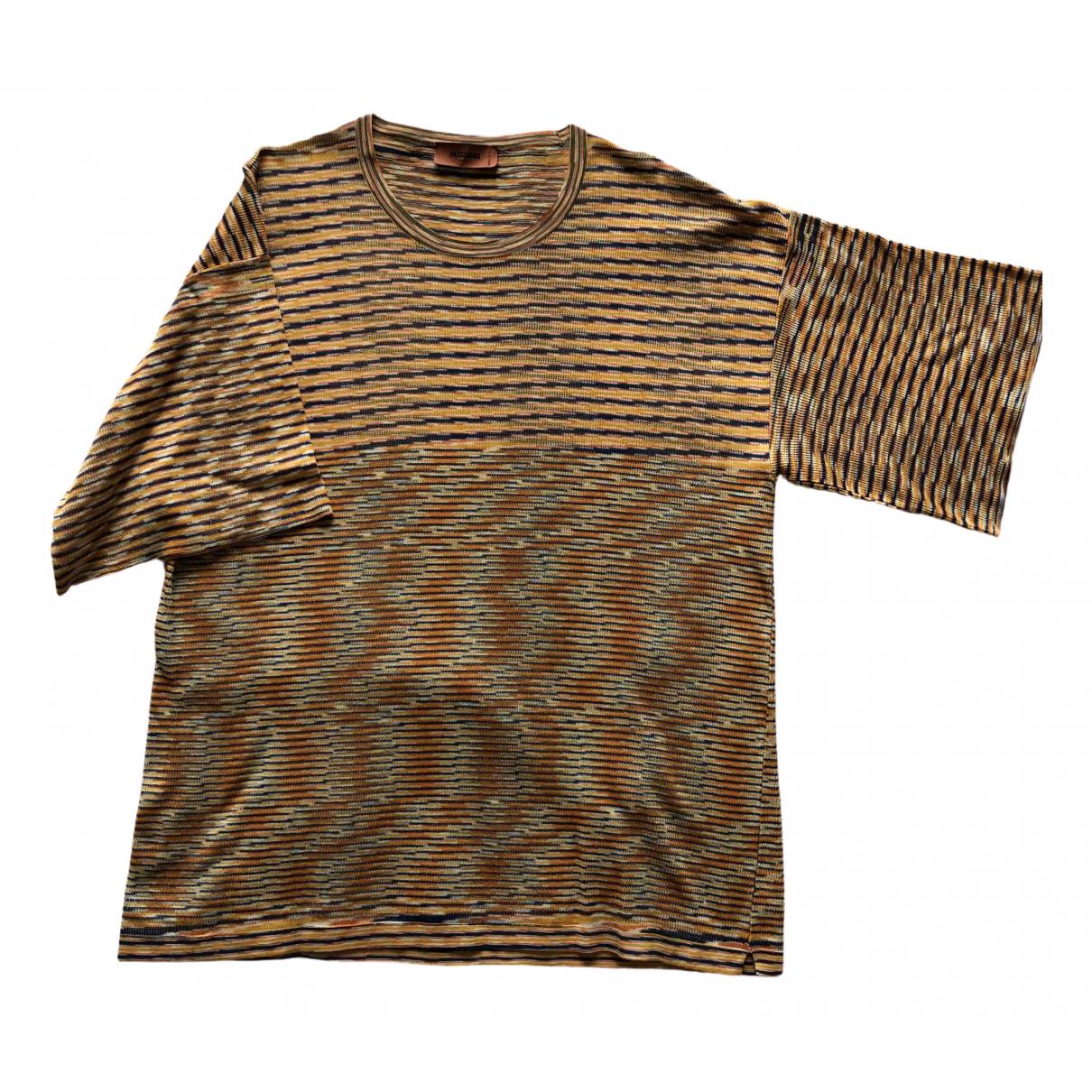 Missoni \N T-Shirts in  Orange Baumwolle